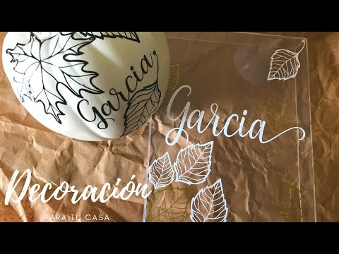 Ideas para decorar con tu Cricut 2020