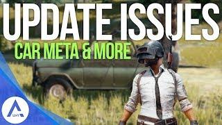 PUBG Xbox: Car Meta Changes, Vaulting Broken, Recent Update Issues