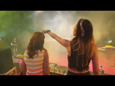 DJ Angel spinning at Baroda - Badshah Live in Concert - 18th June 2016 - PSE(3)