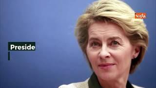La nuova Commissione Europea di Ursula Von der Leyen