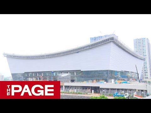 東京五輪まで約1年 完成間近の会場や選手村を報道公開