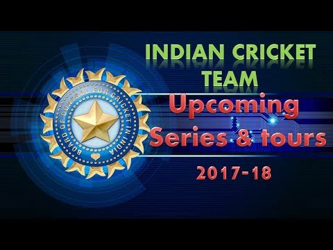 India Cricket Schedule 2017-18, Upcoming Tours of Team ...