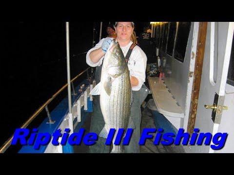 Riptide iii night fishing city island new york youtube for City island fishing