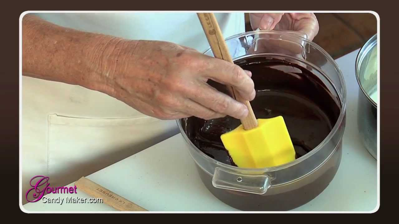 youtube how to make ganache