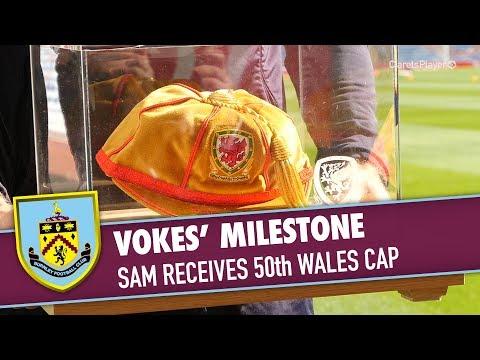 VOKES   Sam Receives 50th Wales Cap