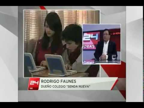 Entrevista a Nuestro Director en Canal 24 horas.