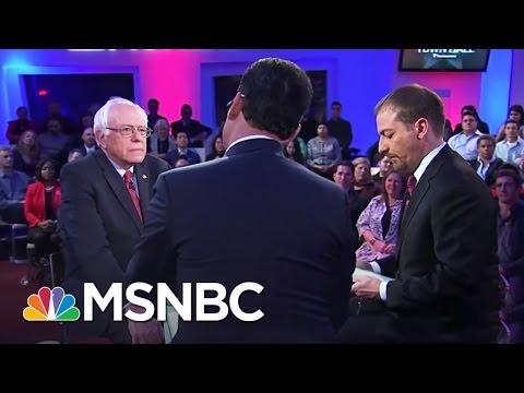 Hillary Clinton - Bernie Sanders Town Hall Part 1 | MSNBC