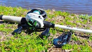 Fishing A SECRET Farm Pond!! (6lb Bass)