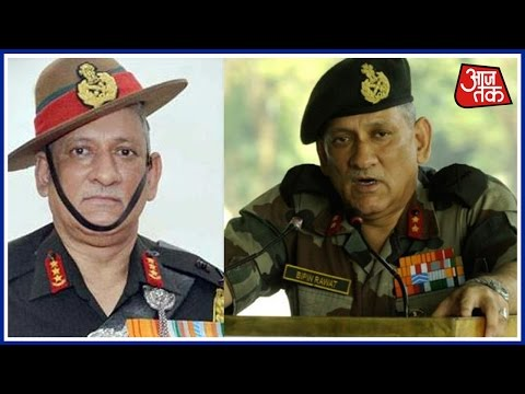 Lt General Bipin Rawat Named New Army Chief