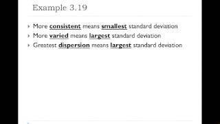 02 Consistency and Standard Deviation