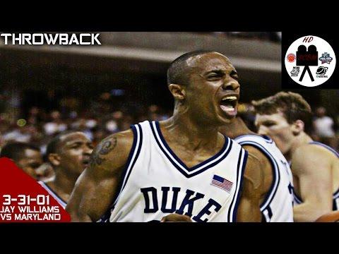 Jay Williams Duke Full Highlights vs Maryland Final Four (3-31-01) 23 Pts 4 Asts 2 Stls