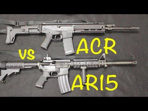 Bushmaster ACR Vs. AR15