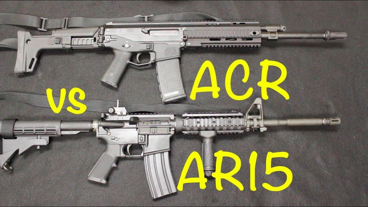 Bushmaster ACR vs  AR15