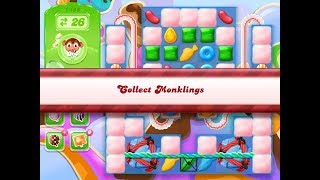 Candy Crush Jelly Saga Level 1188 (3 stars, No boosters)
