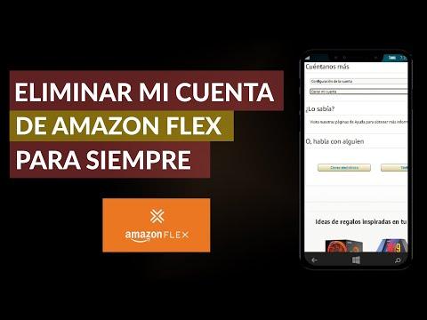Cómo Puedo Eliminar mi Cuenta de Amazon Flex para Siempre