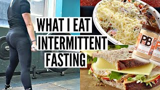 What I Eat In a Day Intermittent Fasting Day 1