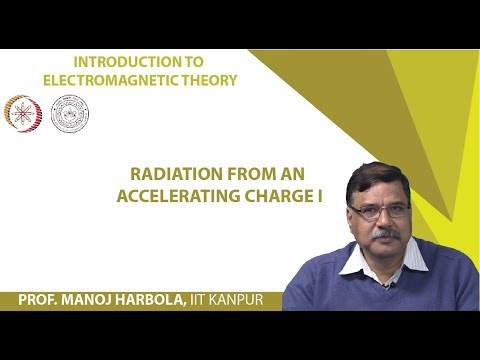Radiation from an accelerating charge I