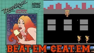 Atari Porn Game Beat'em & Eat'em game play