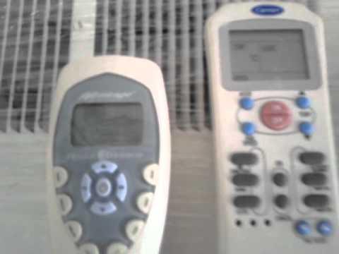 Controles remotos para aire acondicionado ventana o mini for Manual aire acondicionado
