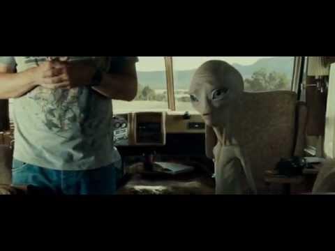 Paul (the alien) mindmeld montage clip