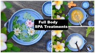 3 Step Full Body Spa Treatment At Home With Common Kitchen Ingredients!