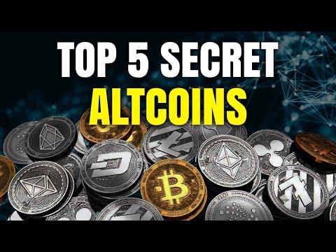 Top 5 Secret Altcoins to 5 Million!!!