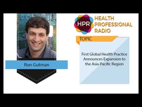 First Global Health Practice Announces Expansion to the Asia-Pacific Region