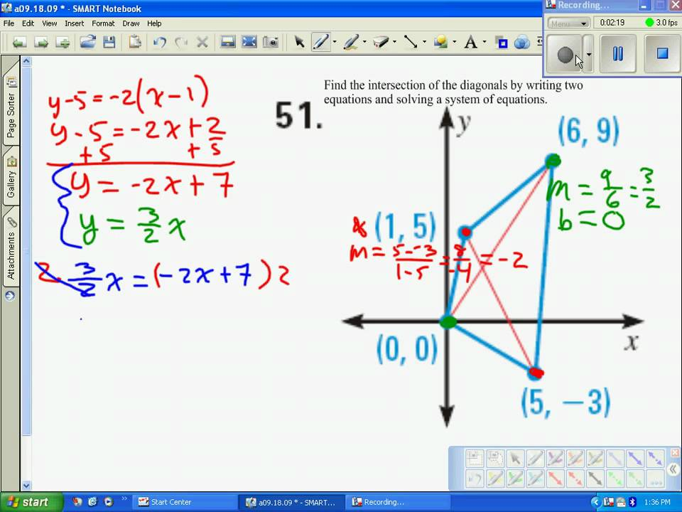 Transformation using matrices