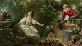Jean-Honoré Fragonard, The Progress of Love: The Meeting, 1771-1773