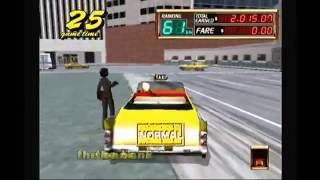 Let's Play Crazy Taxi 2 Dreamcast HD
