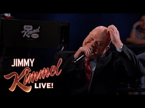 Behind the s with Jimmy Kimmel and Audience Warm Up Comedian