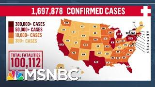BREAKING: U.S. Coronavirus Deaths Pass 100,000 Mark | MSNBC