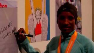 大阪国際女子マラソン表彰式 women's marathon