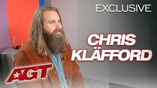 Chris Kläfford Chats About His Dreams Coming True On AGT! - America's Got Talent 2019