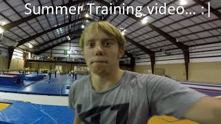 Summer training video, Triple Frontflip, Trampoline Hang Gainer, and much more