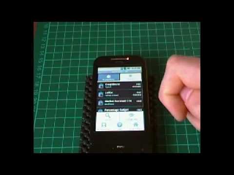 Viedo Tour Android Cupcake 1.5 HTC Build