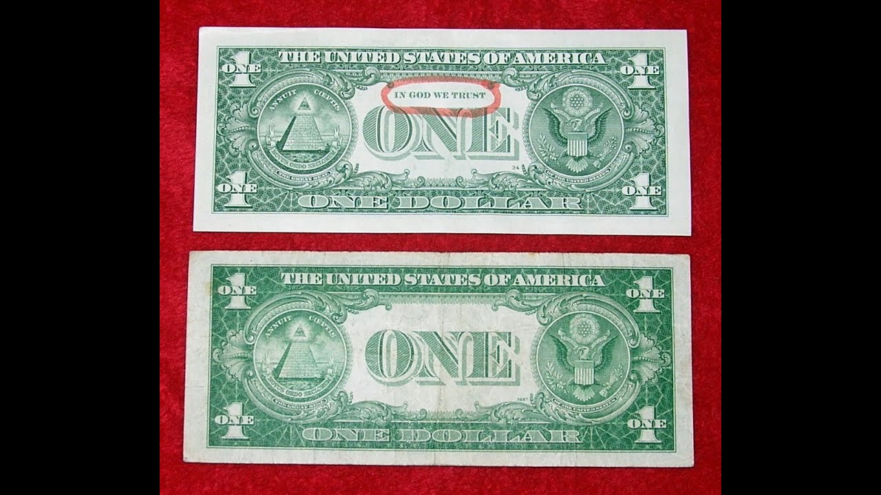 Mysterious Atheist Dollar No Motto In We Trust