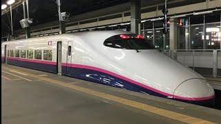 E2系GTO車 新潟駅(改修前) 到着