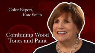 Expert Color Advice: Combining Wood Tones and Paint