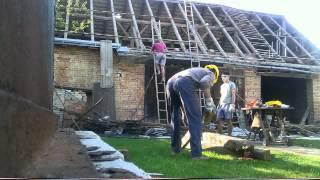 Azbestová střecha #2