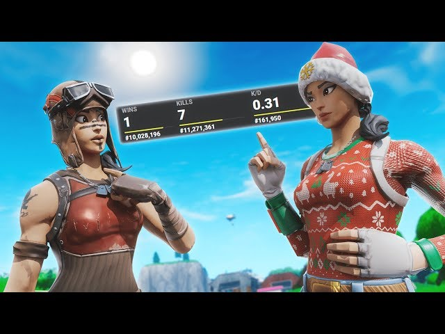 I exposed people's stats in random duos...