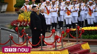 Toàn cảnh lễ đón Chủ tịch Kim thăm chính thức Việt Nam | VTC1
