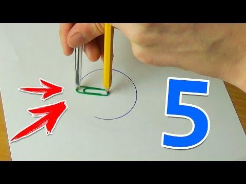 Как сделать круг без циркуля