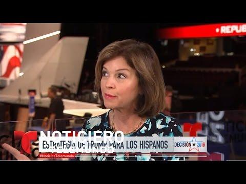 Helen Aguirre: Trump modificará enfoque hacia hispanos | Noticiero | Noticias Telemundo