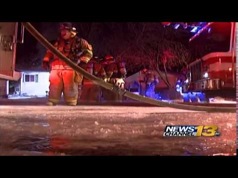 Two Hurt In Colorado Springs House Fire