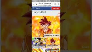 Quiz testes Dragão ball - part 1
