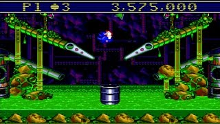 Sonic Spinball (SONICS ULTIMATE GENESIS COLLECTION/PS3) #48 LongPlay HD
