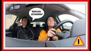 Varning: Anty bakom ratten ⚠️