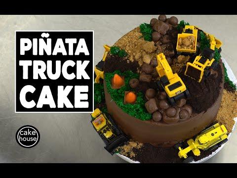How to Make a Piñata Cake Perfect for Kids  Welcome to Cake Ep02
