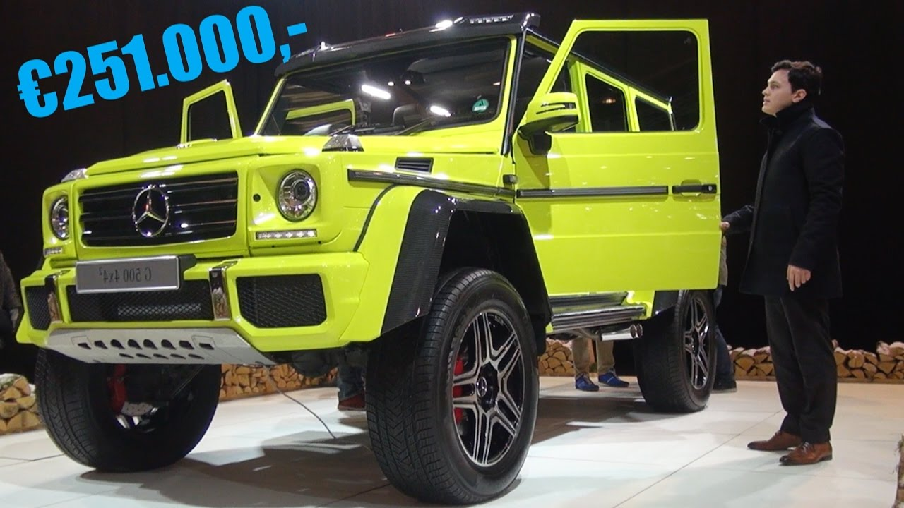 mercedes benz g500 4x4 squared review full interior exterior youtube. Black Bedroom Furniture Sets. Home Design Ideas